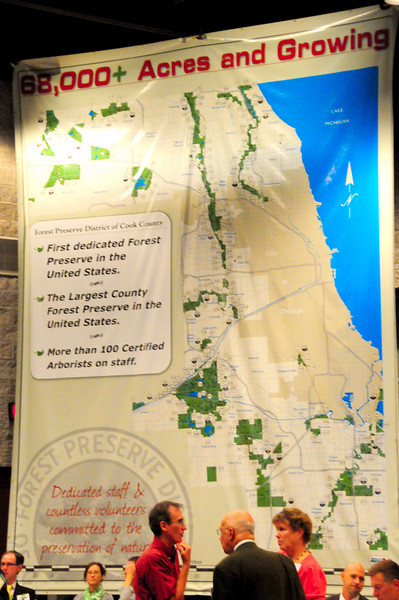 The Cook Councy Forest Preserve District is quite remarkable, and is responsible for the huge swaths of green that you see throughout Cook County.