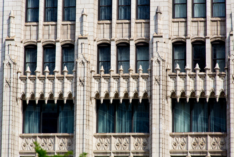 Classic masonry window decoration