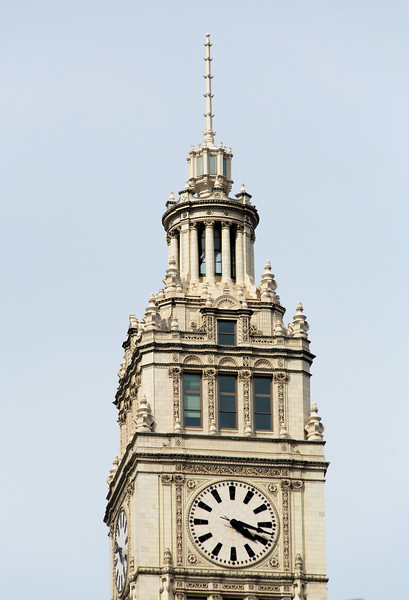 Top of Wrigley Tower