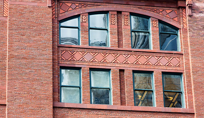 Modest window ornamentation