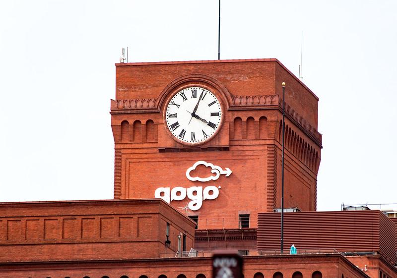 Gogo building detail