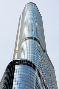 Trump Tower from the bottom