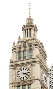 Top of the Wrigley Building