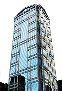 A neoclassical skyscraper design