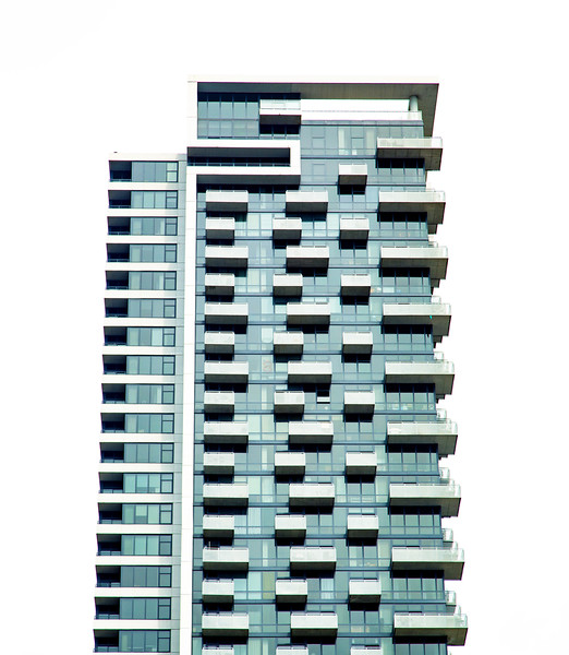 Is this apartment built from Lego blocks?
