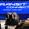 Ford Vice President Mark LaNeve and Actor, Musician Jim Balushi at the Chicago Auto Show