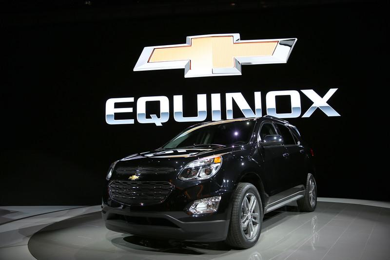 CAS59077<br /> <br /> Newly designed Chevrolet EQUINOX.