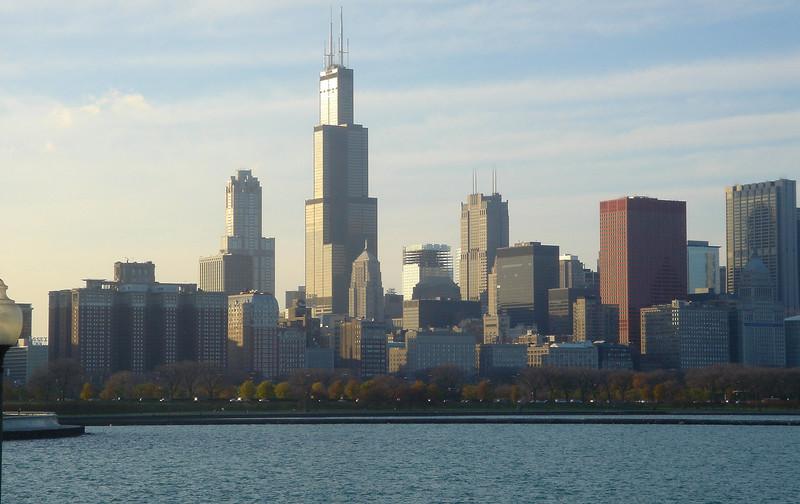 Chicago skyline (afternoon).