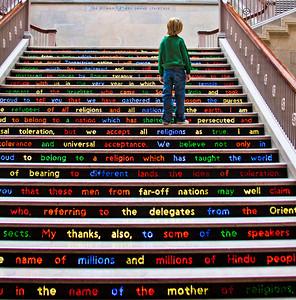 2011 - Chicago, Illinois, Art Institute grand staircase