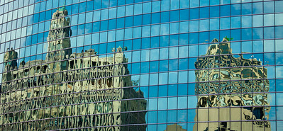 2011 - Chicago, Illinois, window reflections