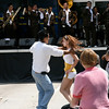 Salsa dancers at the Taste of Chicago food festival