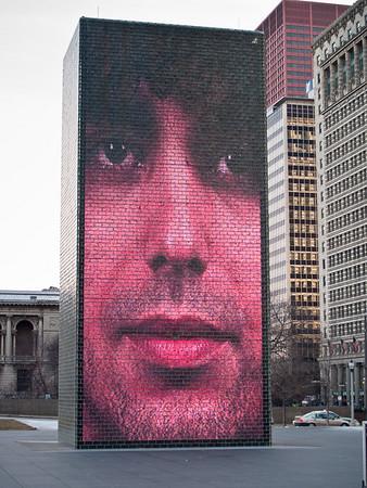 Chicago-Millenium Park