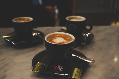Espresso at Eataly