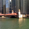 Click for larger versions!<br /> <br /> Taken looking east (towards the lake) from the LaSalle Street bridge.
