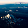 Mt. Adams and Mt. Hood