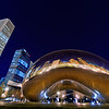 """Chicago's """"Cloud Gate"""" sculpture is known affectionately as the """"Bean"""" by locals. The name is inspired by its appearance.<br /> <br /> Read more: <a href=""""http://www.travelcaffeine.com/chicago-cloud-gate-bean/"""">http://www.travelcaffeine.com/chicago-cloud-gate-bean/</a>"""