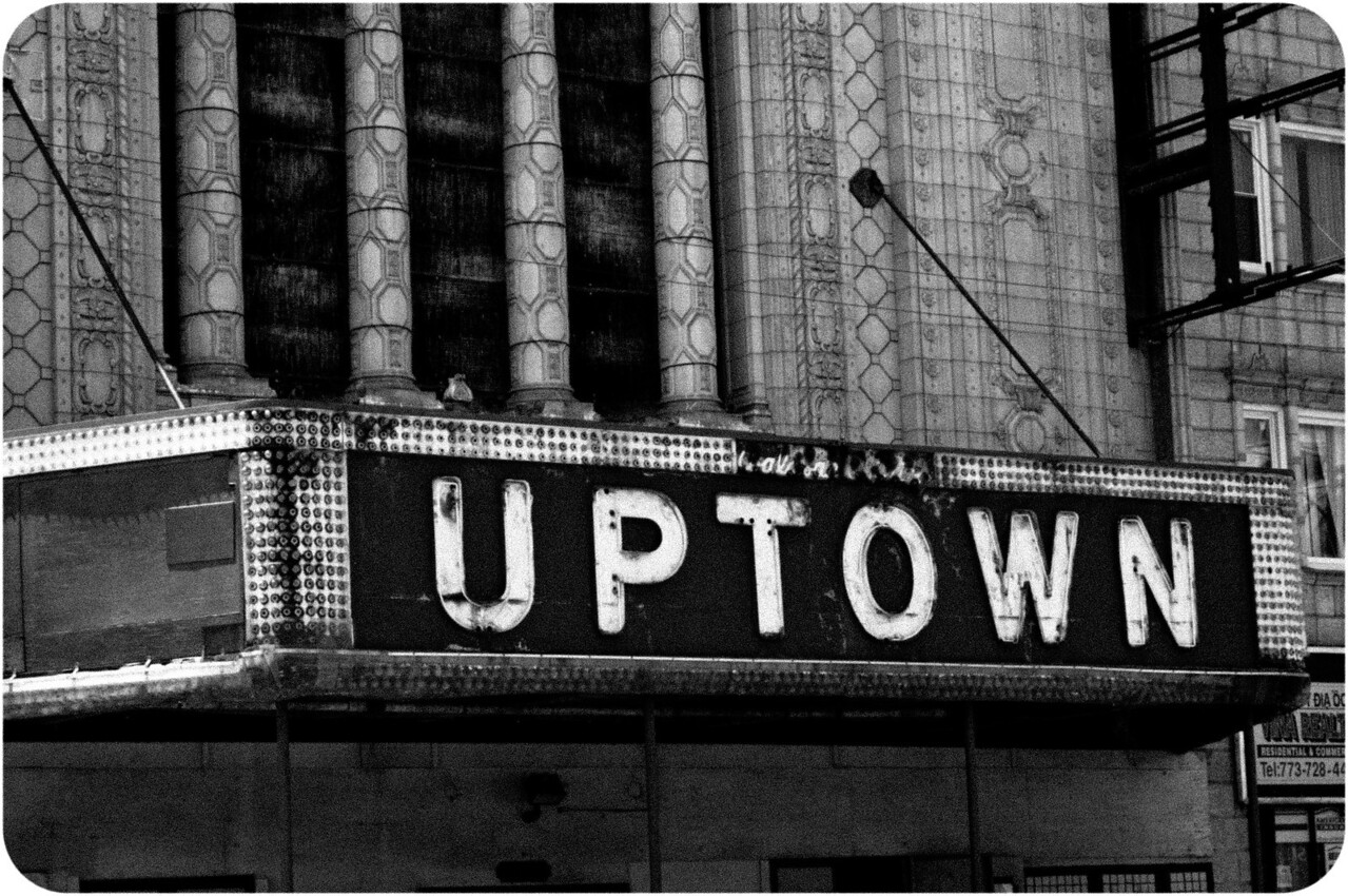 The Uptown Theatre in Uptown