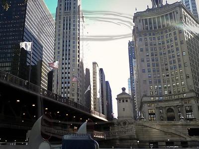 Chicago River Wendella boat Architecture tour, 20Oct10