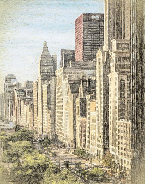 Michigan Avenue Illustrated