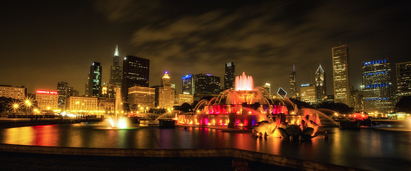 Chicago Buckingham Fountain
