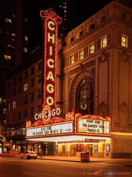 Chicago Theater on State Street.