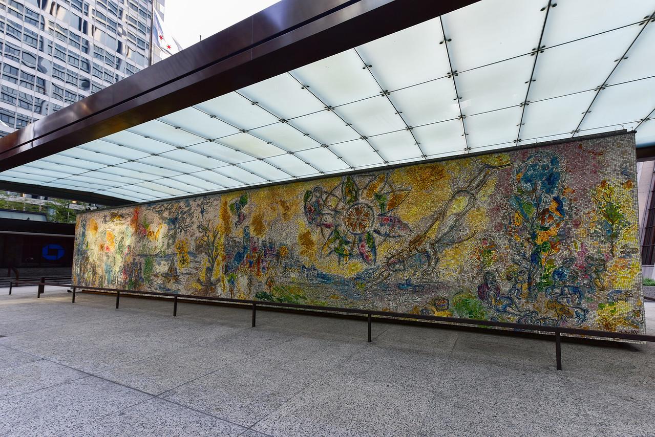 Four Seasons Mosaic - Chicago
