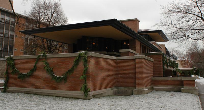 Robbie House by Frank Lloyd Wright