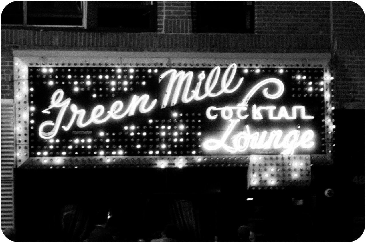 Green Mill Cocktail Lounge in Uptown