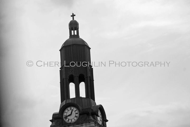 Church Steeple BW