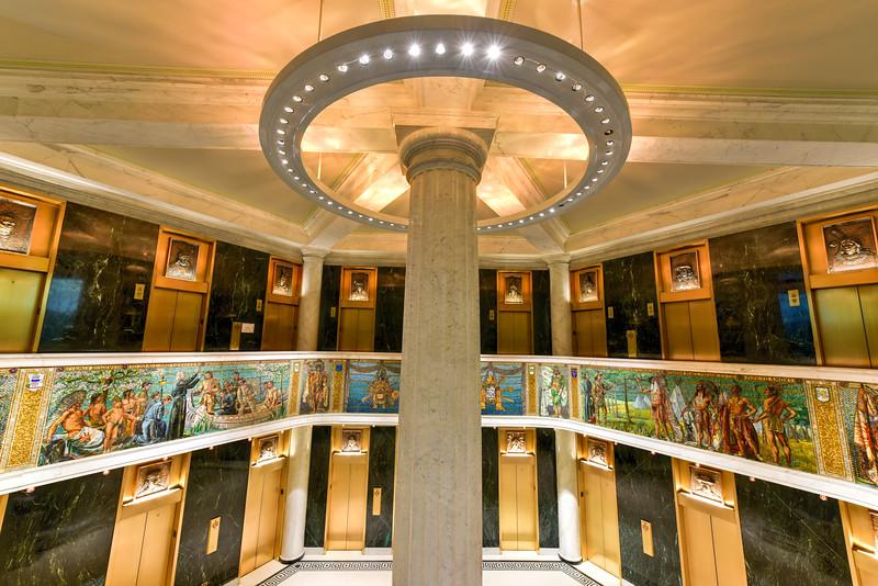 Marquette Building Mosaics - Chicago