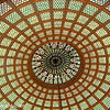 Tiffany ceiling, Chicago Cultural Center