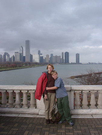 In front of Chicago Skyline