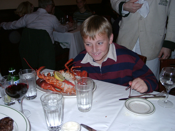 Ben's Lobster Reward