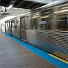 """<span id=""""title"""">Train</span> Obligatory train-go-fast photo. We hopped on one of these trains to head out to Oak Park to meet some friends and check out some Frank Lloyd Wright buildings."""