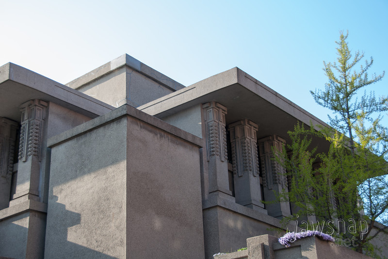 "<span id=""title"">Unity Temple</span> Exterior of Unity Temple. Kind of reminds me of his Ennis House in Los Angeles."