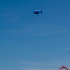 The blimp over Navy Pier.