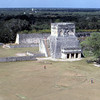 can8602_12, The Great Ball Court and Temple of the Jaguars, Chichen Itza, Maya Ruins, Yucatan Peninsula, Mexico