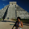"El Castillo (the castle) - Temple of Kukulcan<br /> <br /> Chichen Itza is the last Mayan city of South America. Chichen means food and itza means water - ""At the mouth of the water"". The Yucatan area and even others in Mexico have a vast network of underground rivers. At places, these are exposed above the ground in the form of ""sink holes"" or ""cinotes"". There are two such in and around Chichen-Itza."