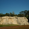 The structure where Mayans danced to celebrate