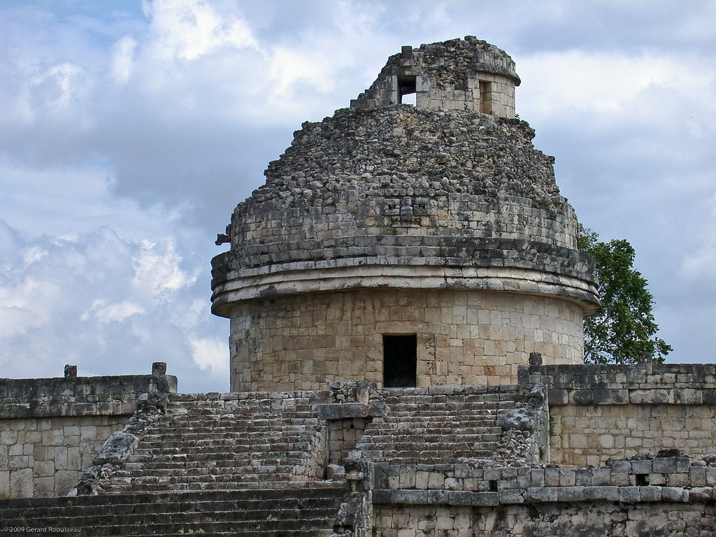 L'observatoire <br /> <br /> Chichen-Itza (5 of 30)