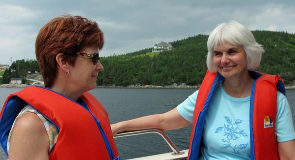 Linda and Joan