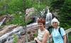 Linda and Joan at the Falls