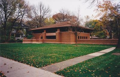 Frank Lloyd Wright huizen