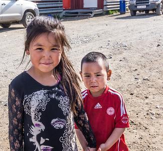 Tasiilaq children