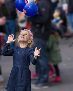 Whereas this little girl is certainly having fun.
