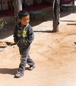Village boy in Khamlia