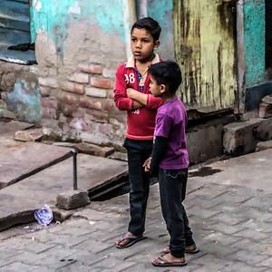 Street scene in Agra
