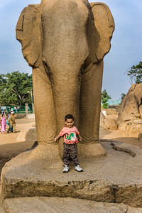 Some of the beautiful stone monuments at Mahabalipuram that date to the 7th and 8th century