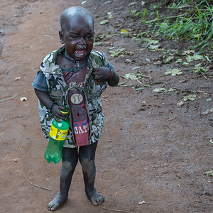 Karamojong child