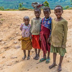 Children seen on my village walk